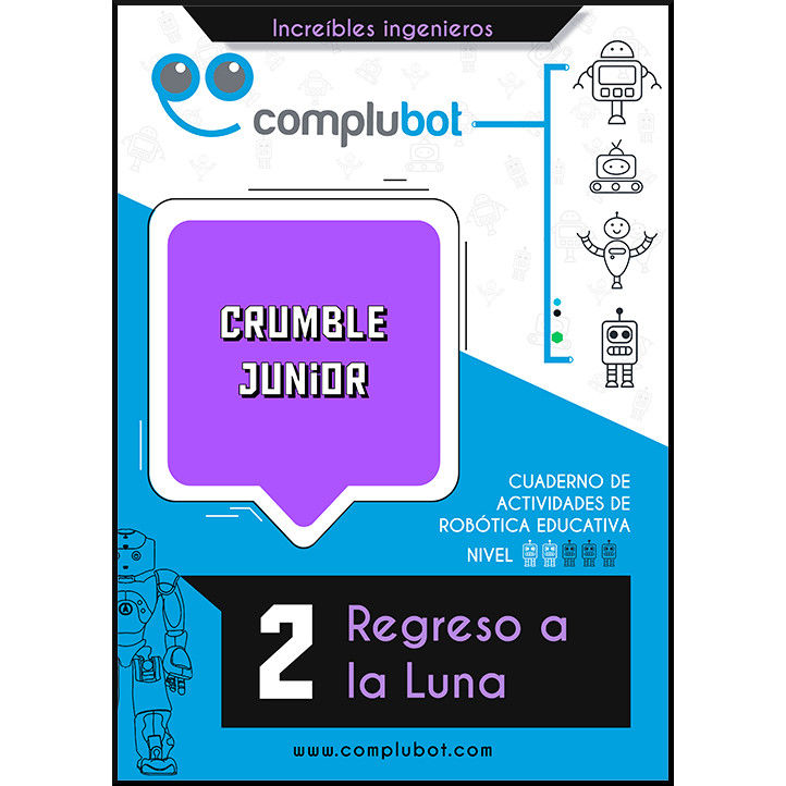Crumble Junior – 2 Regreso a la Luna