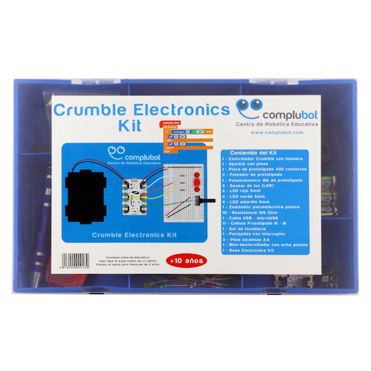 Crumble Electronics Kit